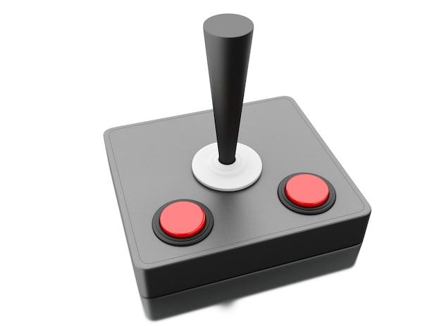 Joystick retro 3d