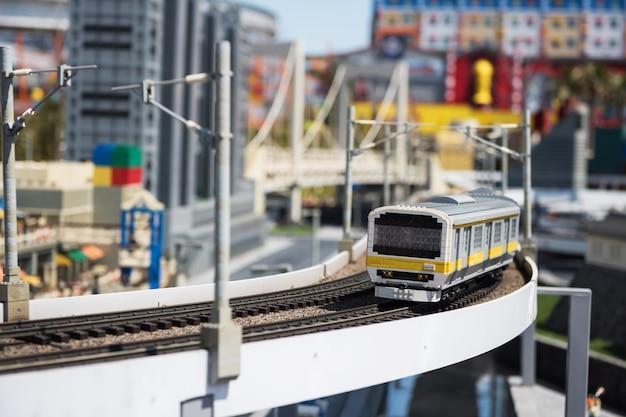 Jr train lego model en legoland