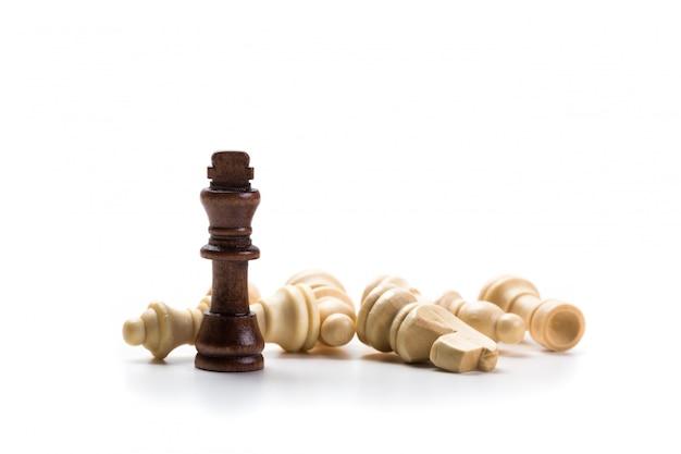 Juego de ajedrez o piezas de ajedrez.