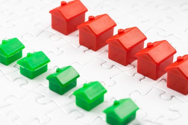 Juego de mercado inmobiliario y inmobiliario