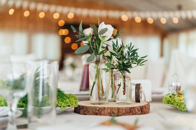 Juego de mesa para bodas u otro evento independiente