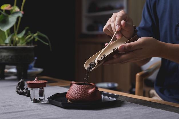 Juego de té chino