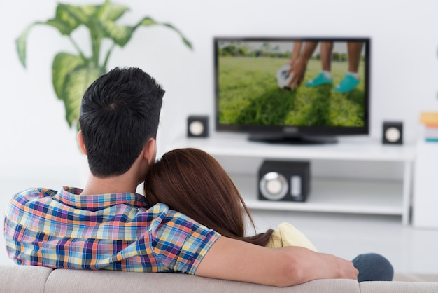Juego en tv