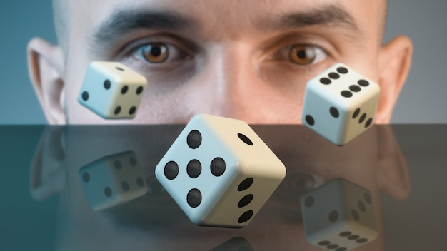 El jugador anticipa una combinación ganadora.