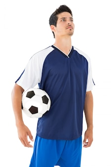 Jugador de fútbol serio