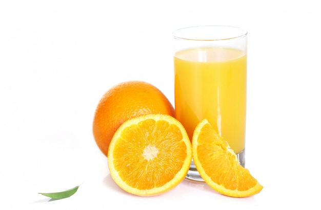 Jugo de naranja fresco