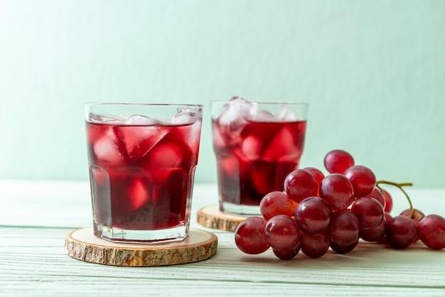 Jugo de uva fresco