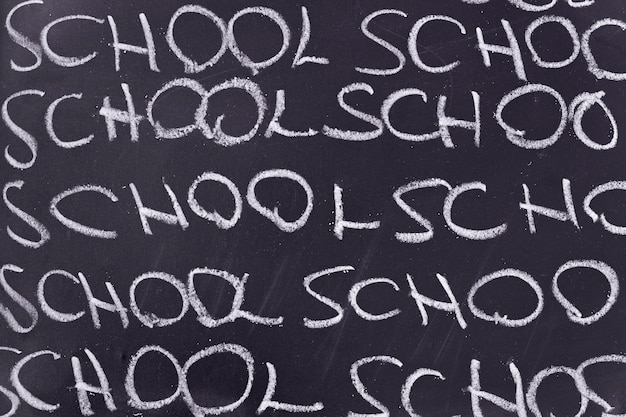 Junta con la escuela de palabra escrita