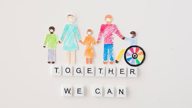 Juntos podemos ayudar al concepto