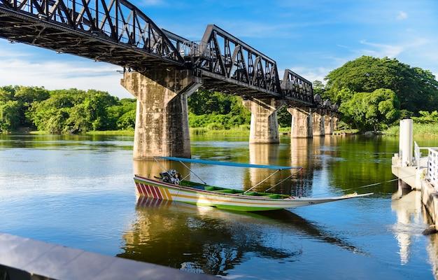 Kanchanaburi (tailandia), el puente sobre el río kwai. line railway world war 2, death railway