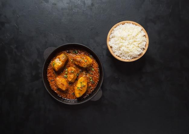 Kerala bengalí pescado al curry