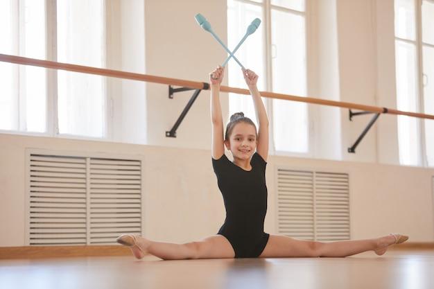 Kid gymnast