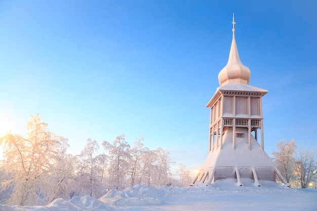 Kiruna cathedral church monument sweden