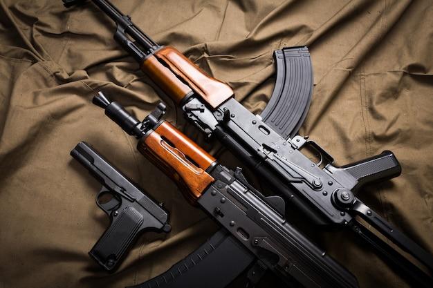 Kit de equipamiento militar moderno de rusia