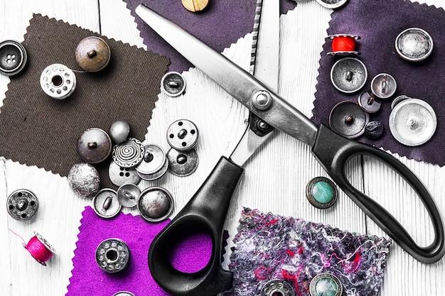 Kit de herramienta para coser.