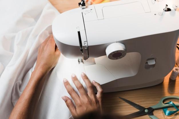 Kit de máquina de coser de vista superior