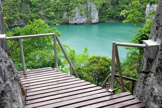 Laguna tropical