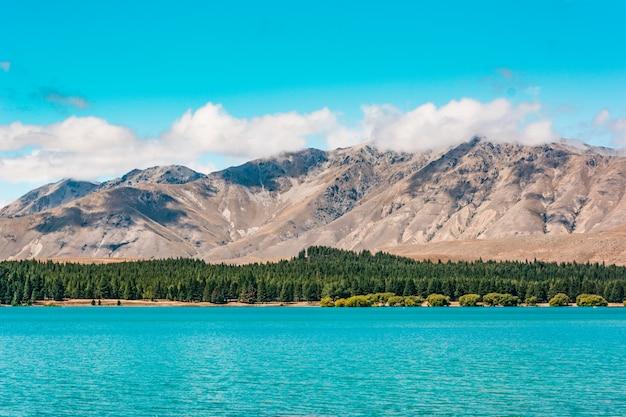 Lake tekapo, nueva zelanda