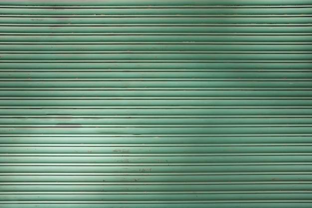 Láminas de perfil verde