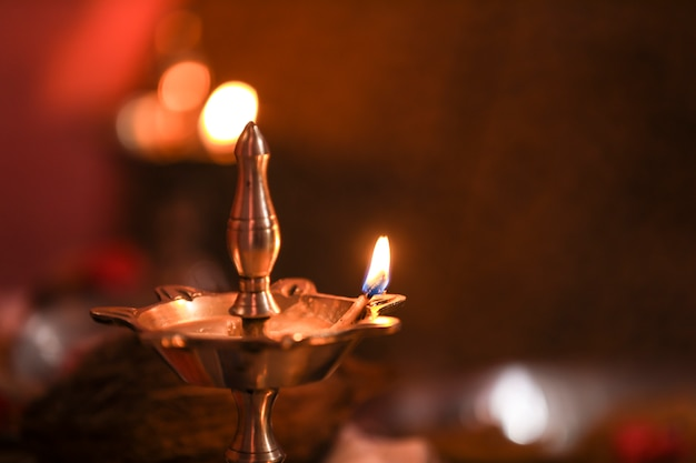 Lámpara diwali