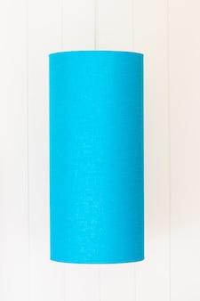 Lámpara de luz azul decoración interior salón