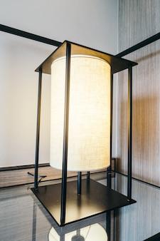 Lámpara de luz decoración interior.