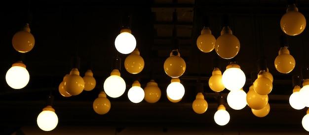 Lámpara vintage decorativa en el hogar