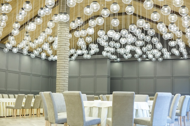 Lámparas led en candelabros de interior