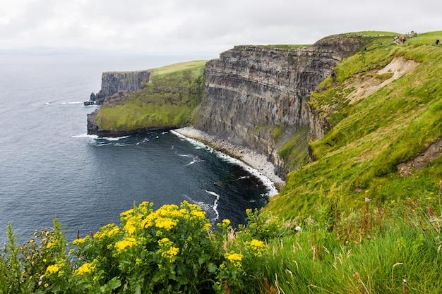 Landascapes de irlanda. acantilados de moher