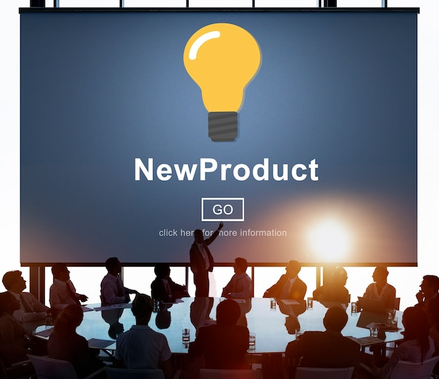 Lanzamiento de productos de negocios