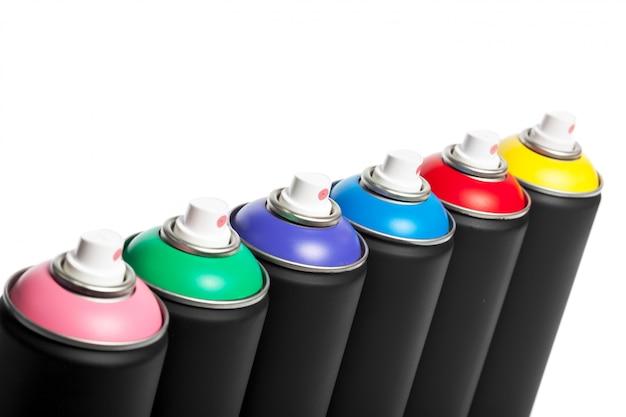 Lata de pintura en aerosol