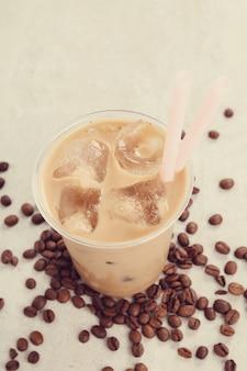 Latte de hielo