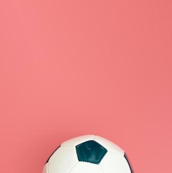 Lay flat de fútbol con espacio de copia
