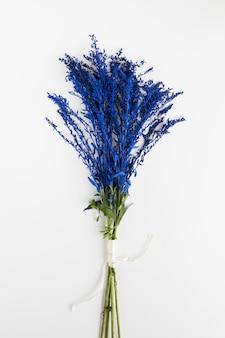 Lay flat de hermoso ramo floral