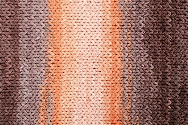 Lay flat de lana de ganchillo