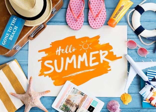 Layout de verano