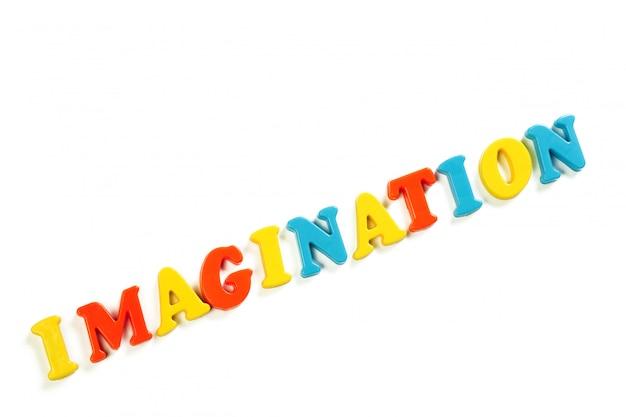 Letras coloridas del alfabeto de juguete