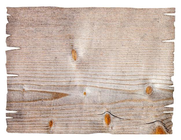Letrero de madera vacío