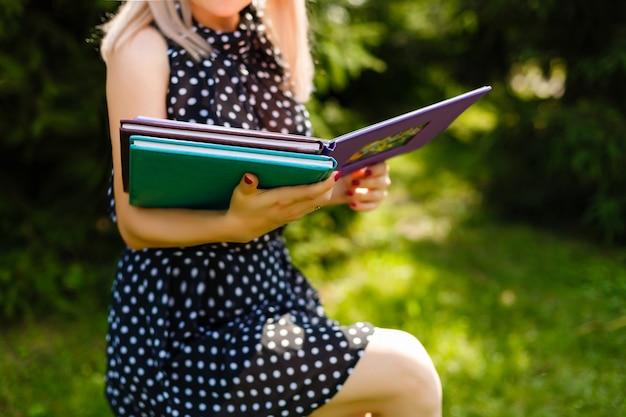 Leyendo un concepto de libro