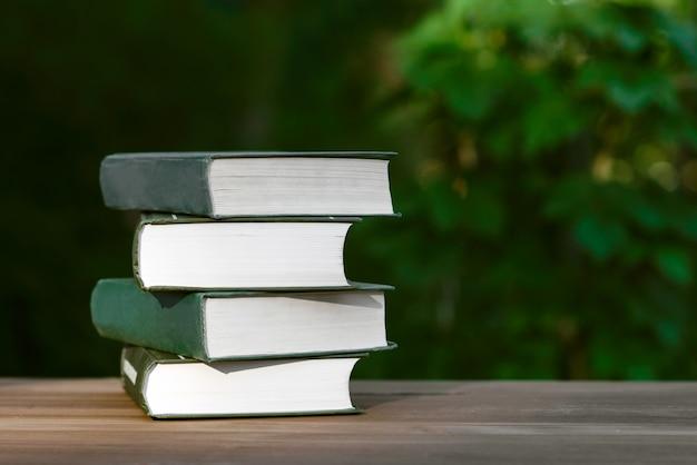 Leyendo libros o entrenando