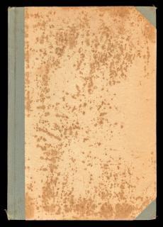 Libro antiguo en blanco cubre áspero