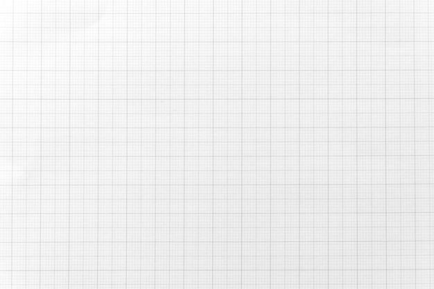 Libro blanco con patrón de línea de cuadrícula para el fondo. de cerca.