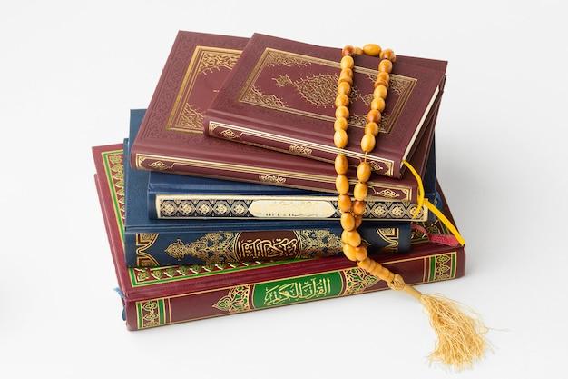 Libros islámicos del corán del año nuevo