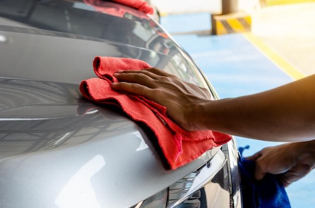 Limpiar el coche limpio
