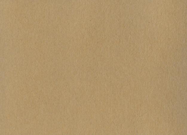 Limpiar la textura de la superficie del papel de cartón kraft marrón