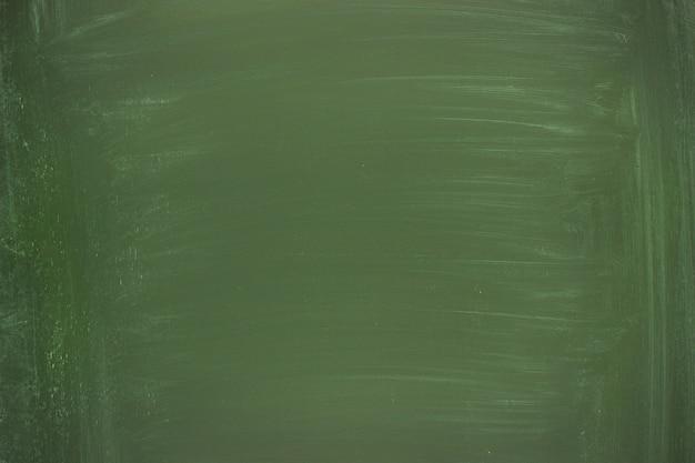 Limpie el tablero de la escuela para la tiza, pizarra verde como fondo