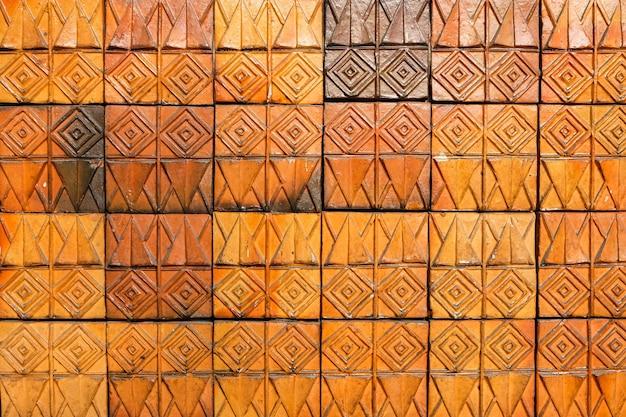 Línea moderna de mortero marrón para el fondo o espacio de textura para su contenido.