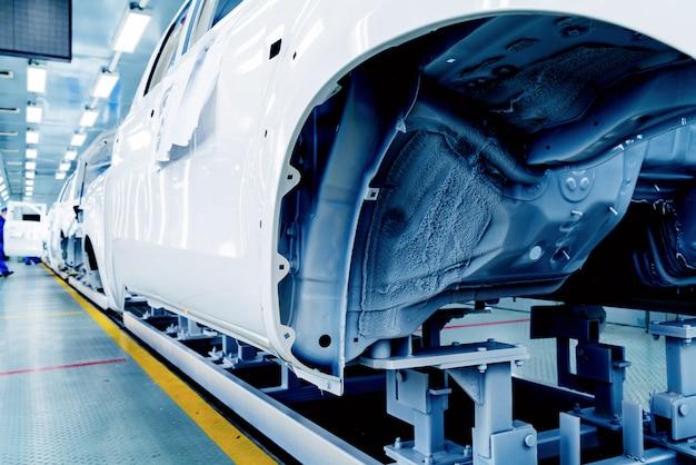 Línea de producción de automóviles