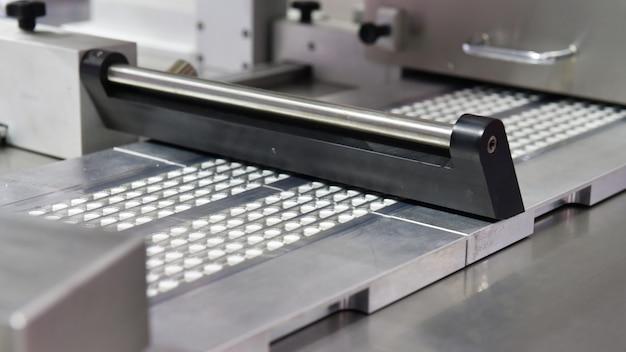 Línea de producción de píldoras de tabletas de medicina farmacéutica