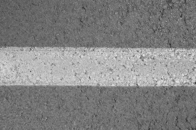 Línea de la textura del asfalto